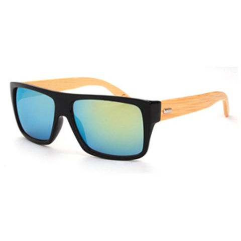 Vintage Bamboo Wooded Sunglasses