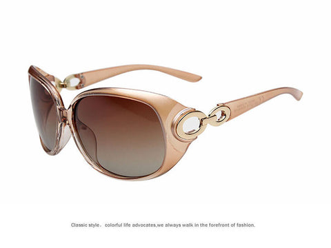 JULI New Women Sunglass Fashion Polarized