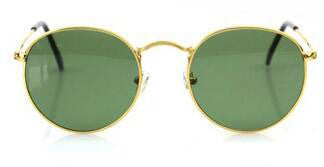 BOUTIQUE New Women Retro Round Alloy Frame Sunglasses