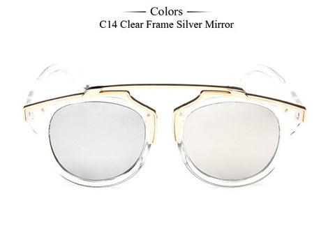 Cat Eye Sunglasses Women Brand Designer Vintage Sun Glasses