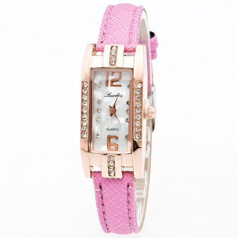 Women's Pointer Quartz Watch Simple Style Bracelet