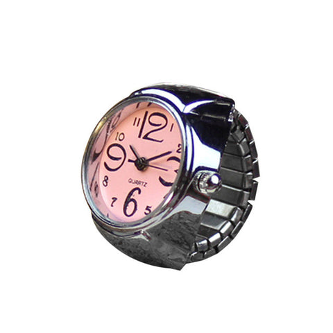 Fashion Stylish Finger Watch Ring
