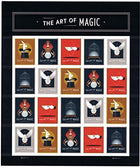 USPS The Art Magic Forever Stamps - Sheet 20