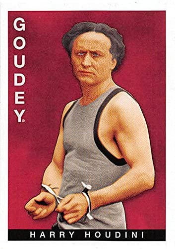 Harry Houdini trading card 2015 Upper Deck Goodwin Goudey #43