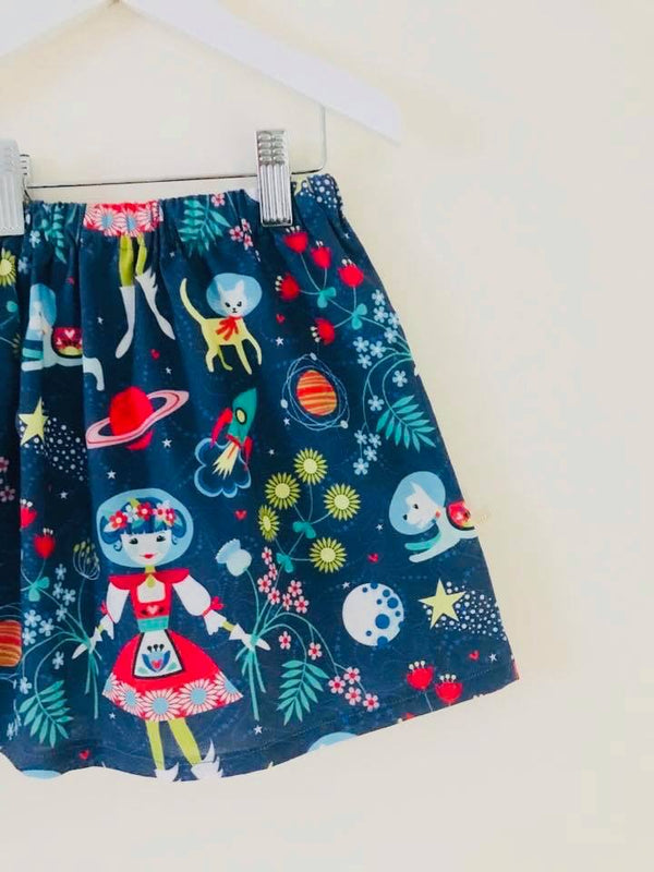 Space Girl Skirt - 3/4 years - £6