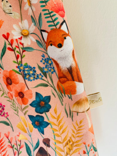 'Friendly Mr Fox' Dress - Turnaround 2/3 weeks