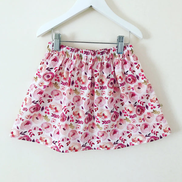 Rose skirt - available in 2/3 or 3/4 years