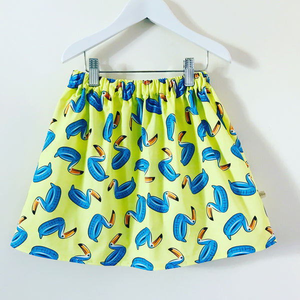 'Pool Party' Skirt. 3/4 years. Can be made smaller FOC x