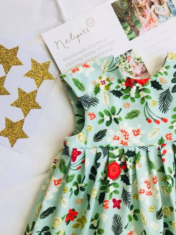 'Vintage Mistletoe' Dress - 2/3 Weeks Turnaround