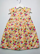'Stripy Flower' dress 💛🌸🌼- 2/3 Years - READY TO POST