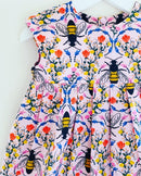 'Bee Garden' dress 🐝 - 18/24mths, 2/3yrs, 5/6yrs - Ready to Post