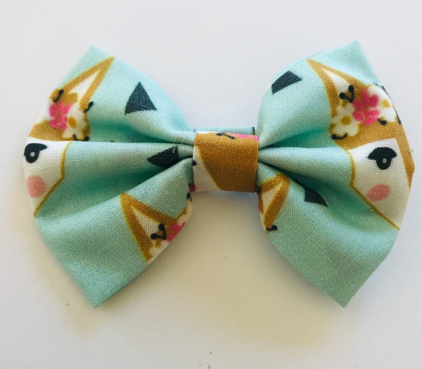 Mint Fox Bow