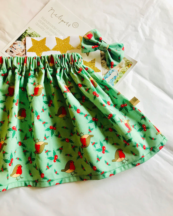 Christmas Skirts 🎄 From Newborn to 8years x