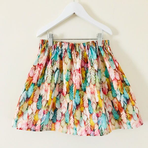 Feather Skirt -4/5 years