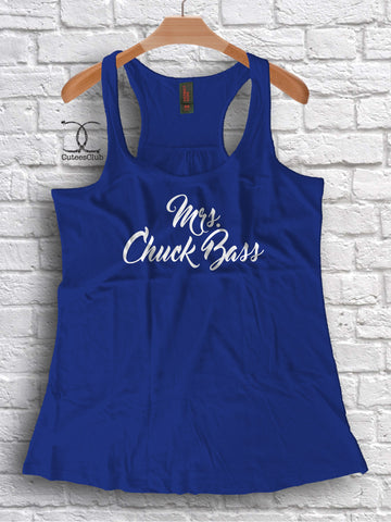 Womans Tank - Mrs Chuck Bass