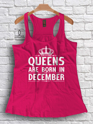 Womans Tank - Custom [ Queens ] Are Born In [ your month ]