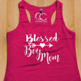 Womans Tank - Blessed Boy Mom