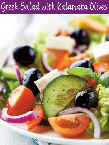 Greek Salad with Kalamata Recipe | Free PDF Download