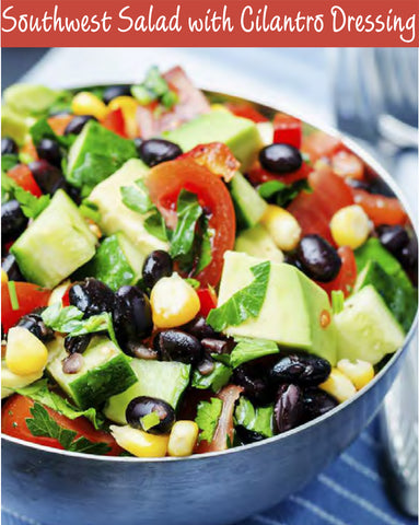 PDF - Southwest Salad with Cilantro Dressing Recipe | Free PDF Download