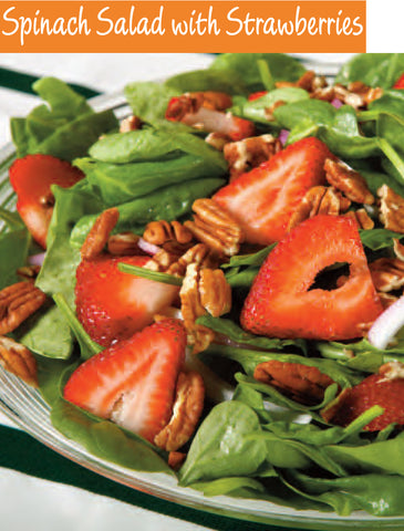PDF - Spinach Salad with Strawberries Recipe | Free PDF Download