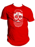 Mens Tank - Bearded Sugar Skull