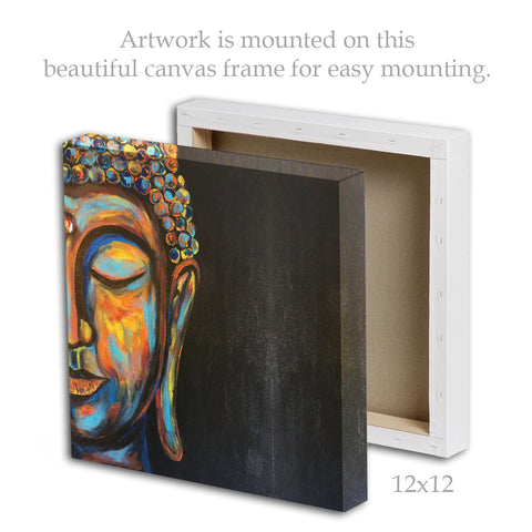 Canvas - Buddha Painting | Framed Canvas