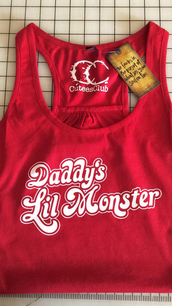 Womans Tank - Daddy's Little Monster