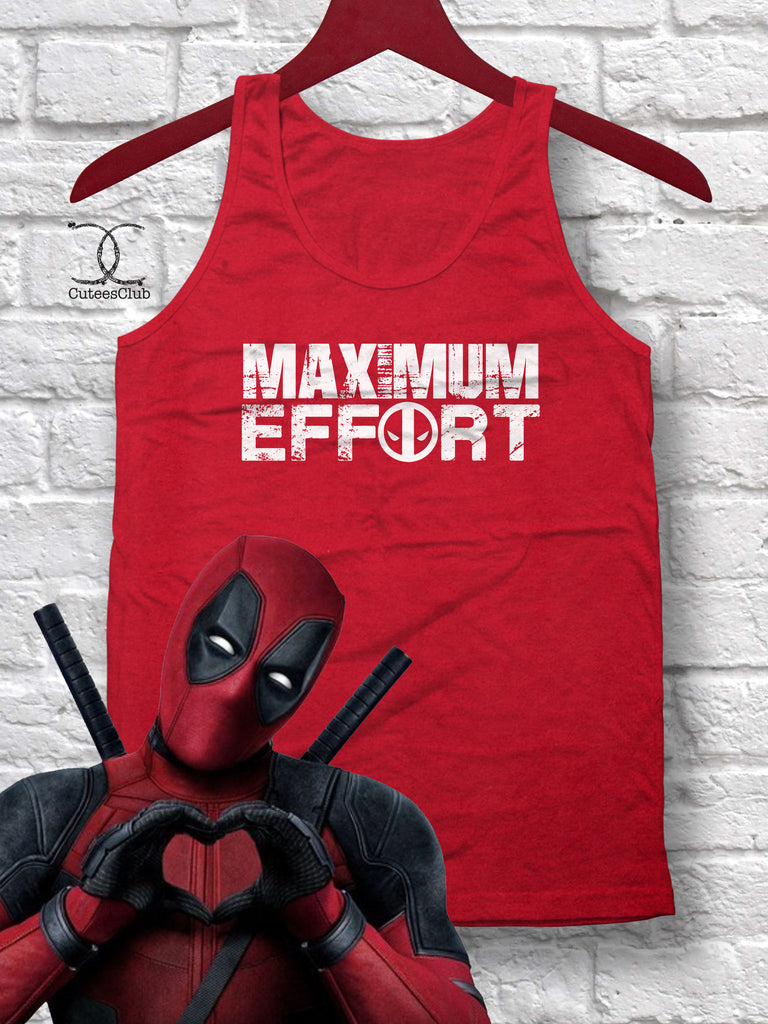5edc2b681243f Mens Tank - Maximum Effort