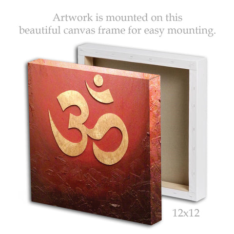 Canvas - OM Red | Framed Canvas