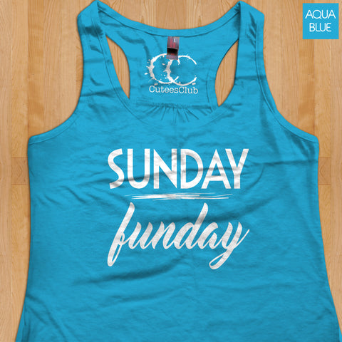 Womans Tank - Sunday Funday