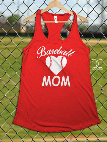 Womans Tank - Baseball Mom