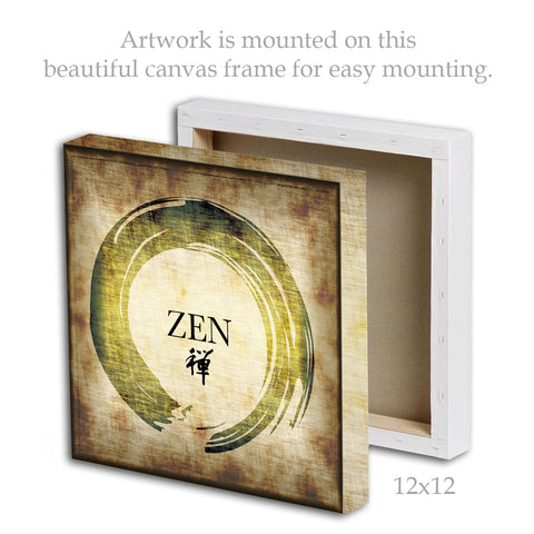Zen | Framed Canvas