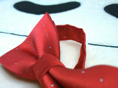Classic Red Bow Tie - Bowties - 2