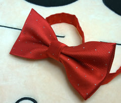 Classic Red Bow Tie - Bowties - 3