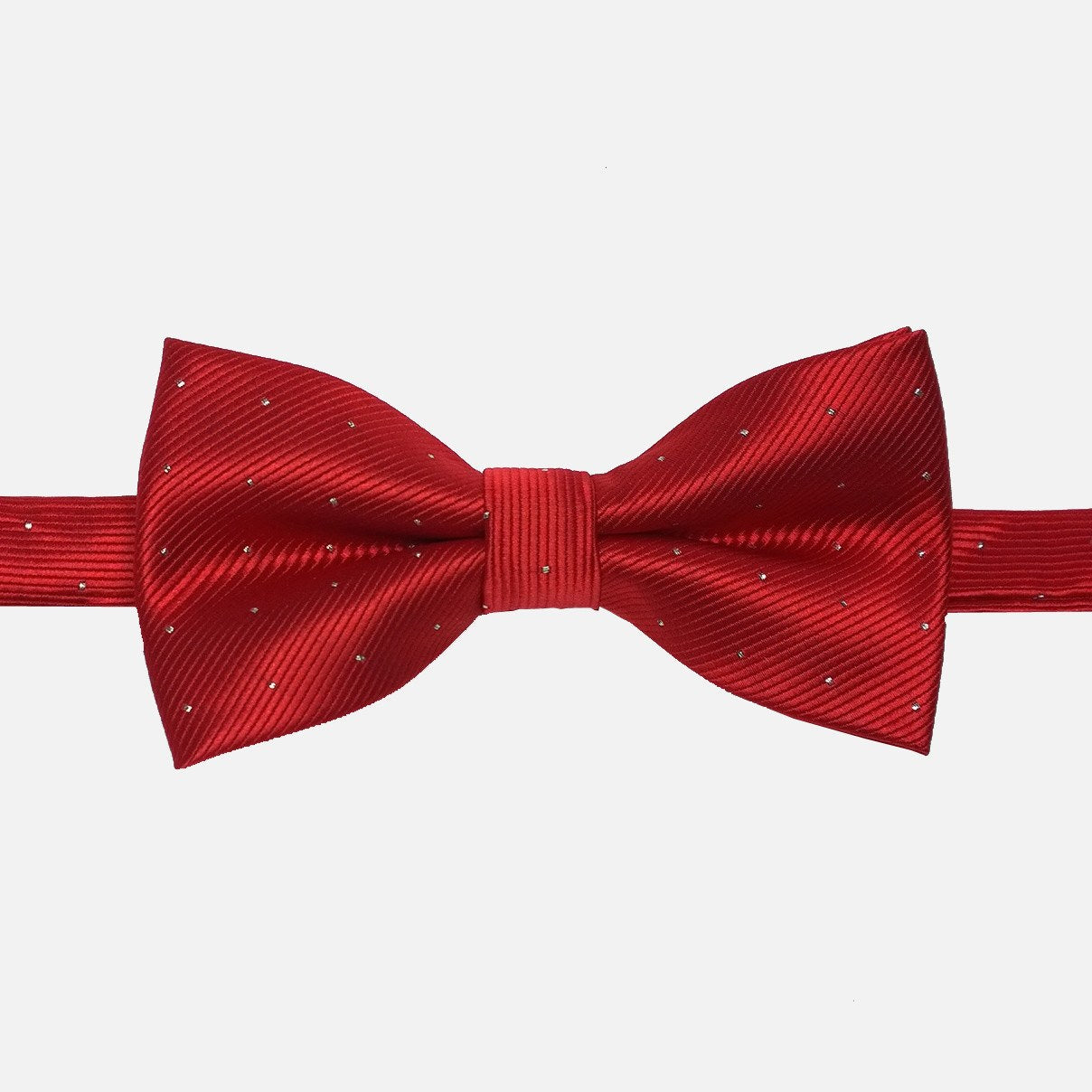 Classic Red Bow Tie - Bowties - 1