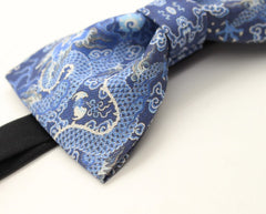 Blue Dragon Bow Tie - Bowties - 2
