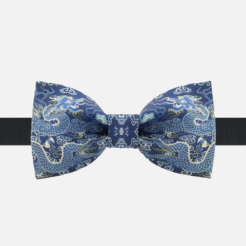 Blue Dragon Bow Tie - Bowties - 1