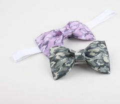 Gray Camo Bow Tie - Bowties - 2