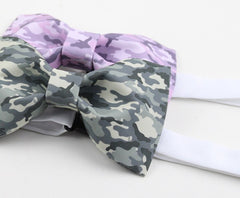 Gray Camo Bow Tie - Bowties - 3