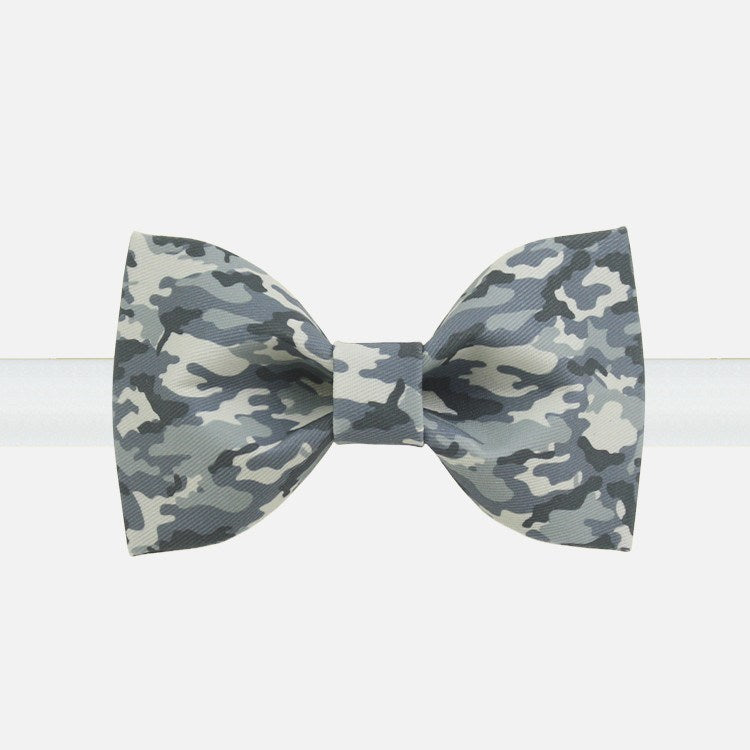 Gray Camo Bow Tie - Bowties - 1