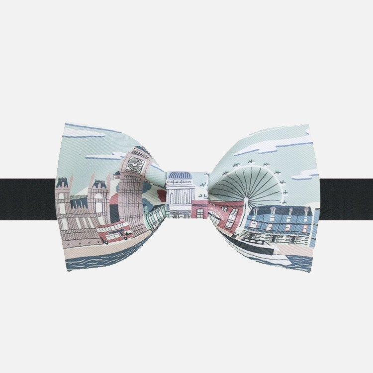Pastel London Bow Tie - Bowties - 1