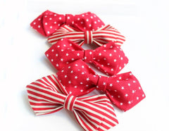 Red Polka Dot Kids Bow Tie - Bowties - 2