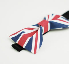 UK Flag Bow Tie - Bowties - 2