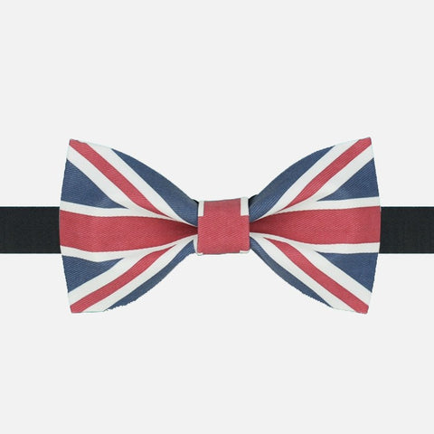 UK Flag Bow Tie - Bowties - 1