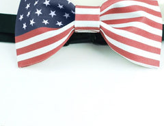 USA Flag Bow Tie - Bowties - 2