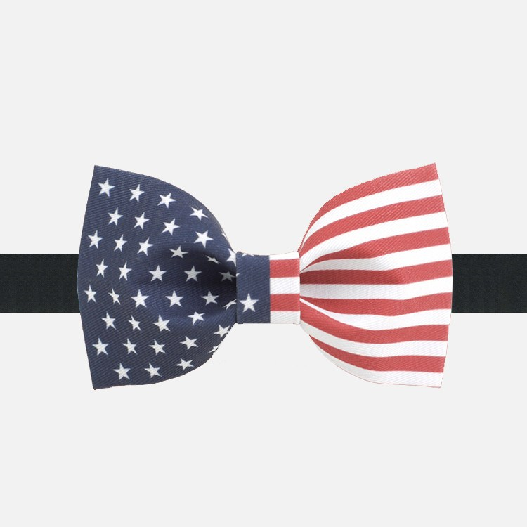 USA Flag Bow Tie - Bowties - 1