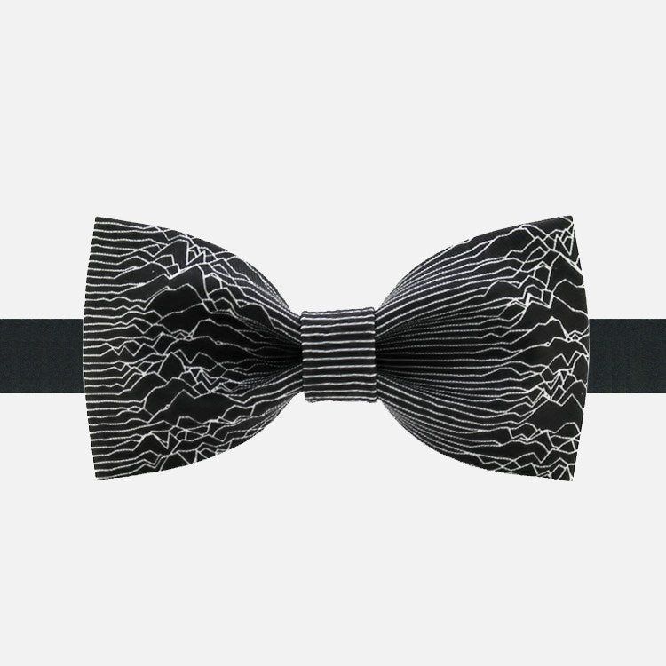 White Lines Bow Tie - Bowties - 1