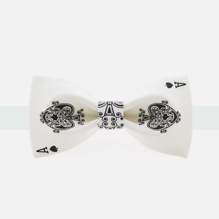 Ace of Spades Bow Tie