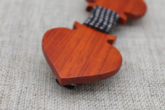 Aces Wooden Bow Tie - Bowties - 2