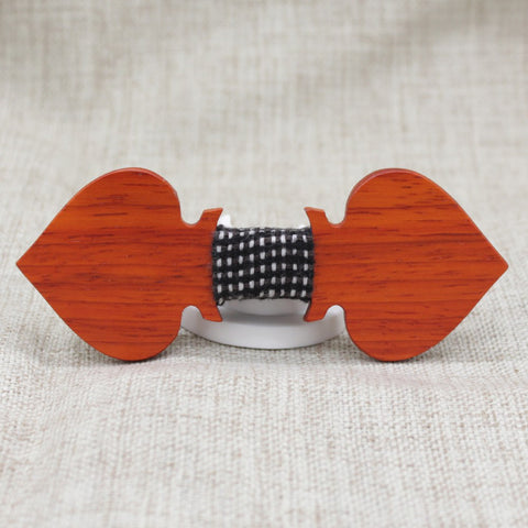Aces Wooden Bow Tie - Bowties - 1